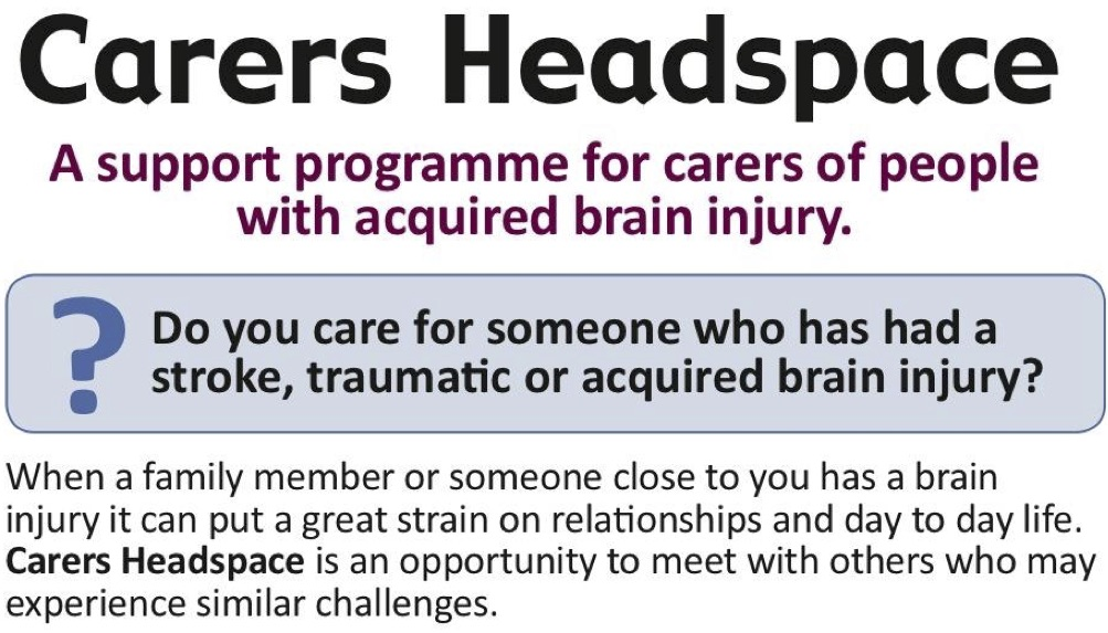 Hookup someone with a head injury
